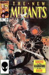New Mutants (The) (1983) -29- Meanwhile, Back At The Mansion