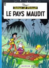 Johan et Pirlouit -12b1990- Le pays maudit