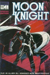 Moon Knight Special Edition (1983) -1- The Big Blackmail/Countdown To Dark