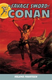 Savage sword of Conan (The) (intégrale Dark Horse)) -INT14- Volume 14