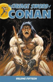 Savage sword of Conan (The) (intégrale Dark Horse)) -INT15- Volume 15