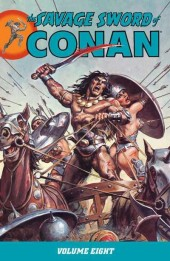 Savage sword of Conan (The) (intégrale Dark Horse)) -INT08- Volume 8
