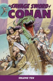 Savage sword of Conan (The) (intégrale Dark Horse)) -INT10- Volume 10
