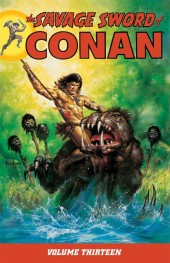 Savage sword of Conan (The) (intégrale Dark Horse)) -INT13- Volume 13