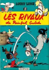 Lucky Luke -19b66- Les rivaux de Painful Gulch
