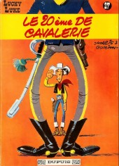 Lucky Luke -27a66- Le 20ème de cavalerie