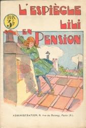 Lili (L'espiègle) -3c1928- L'espiègle Lili en pension