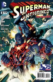 Couverture de Superman Unchained (2013) -3- Answered Prayers