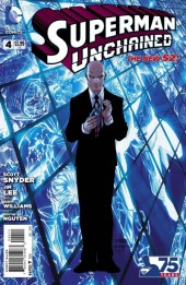 Couverture de Superman Unchained (2013) -4- Bullets