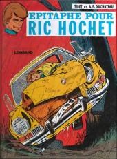 Ric Hochet -17a1978- Épitaphe pour Ric Hochet