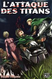 L'attaque des Titans -6- Tome 6