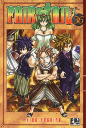 Fairy Tail -36- Tome 36