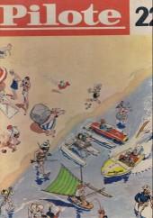 (Recueil) Pilote (Album du journal - Édition française cartonnée) -22- Reliure n°22