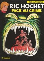 Ric Hochet -38a85- Face au crime