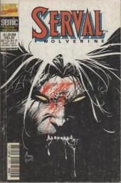 Serval-Wolverine -Rec12- Album relié N°12 (du n°34 au n°35)