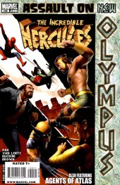 The incredible Hercules (2008) -139- Assault on New Olympus Act II