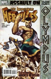 The incredible Hercules (2008) -140- Assault on New Olympus Act III