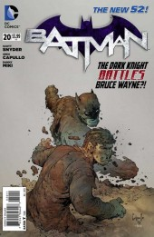 Batman (2011) -20- The Dark Knight Battles Bruce Wayne?! - Nowhere Man, Part 2 of 2