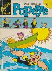 Popeye (Cap'tain présente) -252- Les éponges vide-lacs