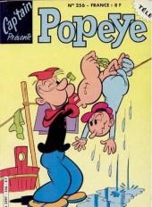 Popeye (Cap'tain présente) -256- La révolte des robots