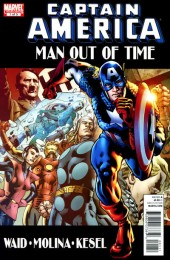 Captain America: Man out of time (2011) -1- Issue 1