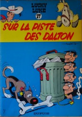 Lucky Luke -17b66- Sur la piste des Dalton