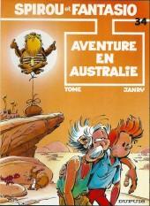 Spirou et Fantasio -34Pub1- Aventure en Australie