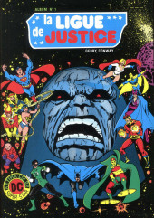 La ligue de justice (1re série - Arédit - Artima Color DC Super Star puis Artima Color DC) -Rec01- Album N°1 (n°1 et n°2)