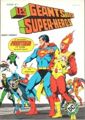 Les géants des super-héros -Rec01- Album N°1 (n°1 et n°2)