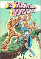 Les géants des super-héros -Rec02- Album N°2 (n°3 et n°4)