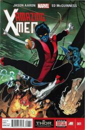Amazing X-Men (2014) -1- The quest for Nightcrawler