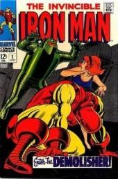 Iron Man Vol.1 (Marvel comics - 1968) -2- The day of the Demolisher !
