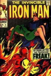 Iron Man Vol.1 (Marvel comics - 1968) -3- My friend,my foe...The Freak !