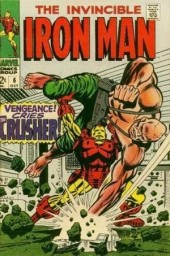 Iron Man Vol.1 (Marvel comics - 1968) -6- Vengeance ! Cries the Crusher !