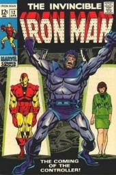 Iron Man Vol.1 (Marvel comics - 1968) -12- The coming of the controller !