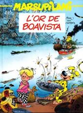 Marsupilami (France Loisirs Album Double) -78- L'Or de Boavista - Le temple de Boavista