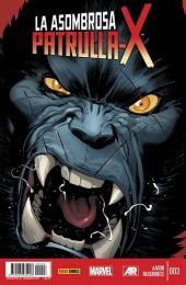 La asombrosa Patrulla-X -3- La Búsqueda De Rondador Nocturno. 3 De 5