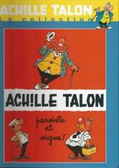 Achille Talon - La collection (Cobra) -3- Achille Talon persiste et signe !