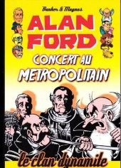 Couverture de Alan Ford (Coffre à BD) -5- Concert au metropolitain