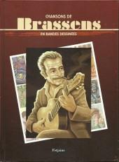Chansons en Bandes Dessinées  -a- Chansons de Brassens en bandes dessinées