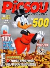 Picsou Magazine -500- Picsou Magazine n° 500