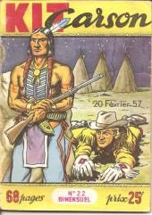 Kit Carson -22- La Patrouille disparue