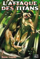 L'attaque des Titans -7- Tome 7