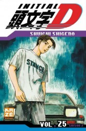 Initial D -25- Tome 25