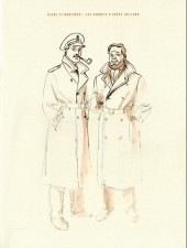 (AUT) Juillard - Blake et Mortimer - Les carnets d'André Juillard