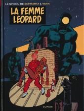 Spirou et Fantasio (Une aventure de.../Le Spirou de...) -7- La Femme-léopard