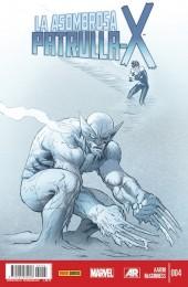 La asombrosa Patrulla-X -4- La Búsqueda De Rondador Nocturno. 4 De 5