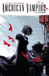 American Vampire -5- La liste noire