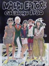 (Catalogues) Éditeurs, agences, festivals, fabricants de para-BD... -ITA- Ivaldi Editore - 1980 - Catalogo