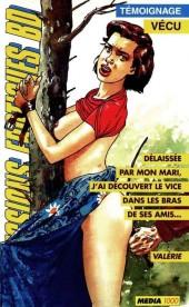 Confessions érotiques BD (Média 1000) -94- Valérie : Délaissée par mon mari, j'ai découvert le vice dans les bras de ses amis...